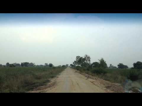 Drive to Singur Dam video 3
