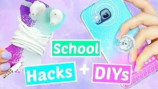 One of Jazzybum's most viewed videos: 10 Back to School Hacks and DIYs