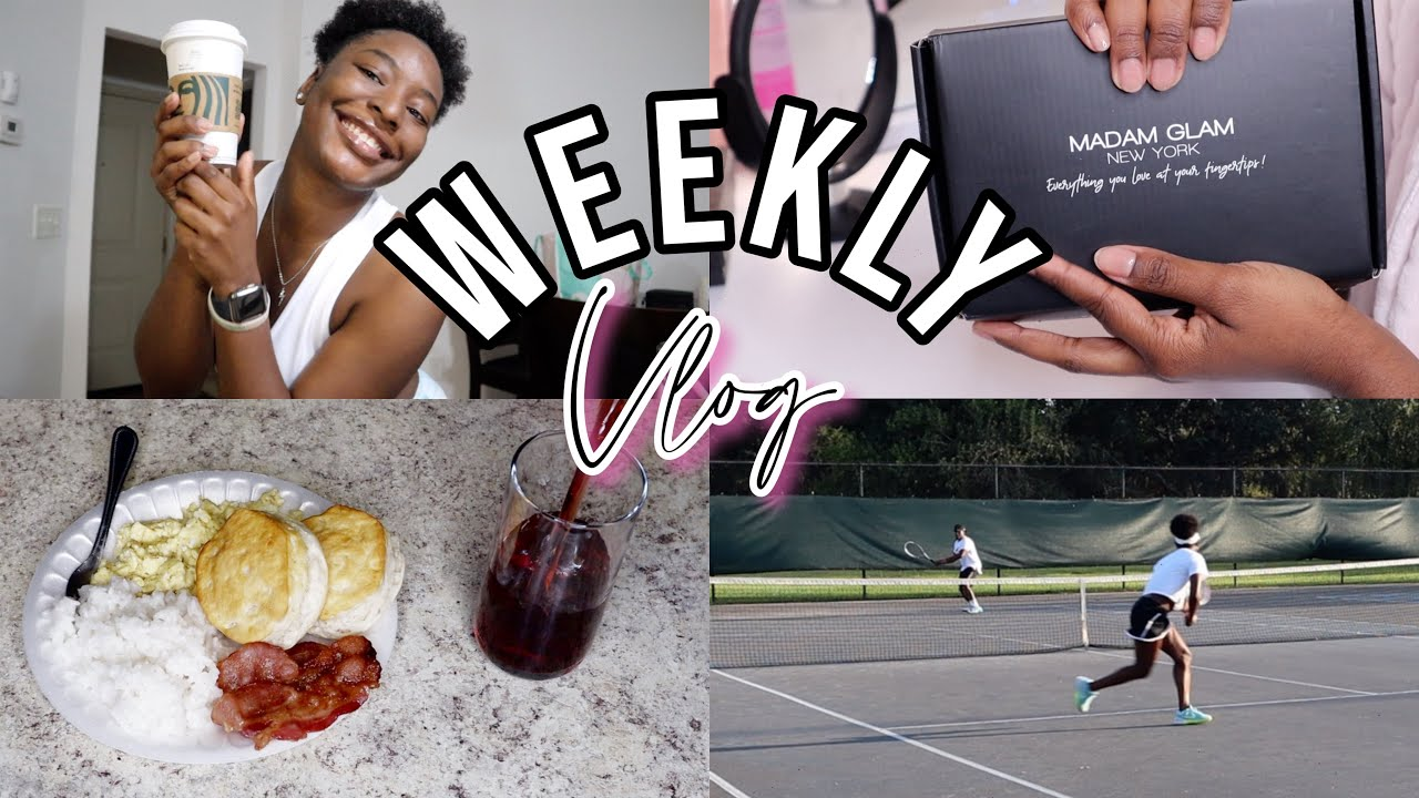 A Week in My Life: Filming + Fabric Shopping + Tennis + MORE! #WeeklyVlog