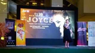 [Part 3] Joyce Cheng 郑欣宜 Promo Tour in Malaysia @ Penang MMall 020 - 女神