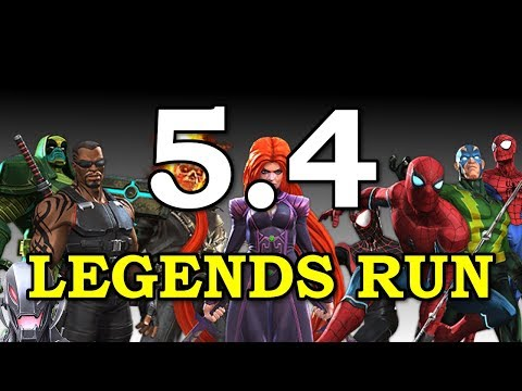 Act 5 Legends Top 100 Attempt | Marvel Contest of Champions Live Stream