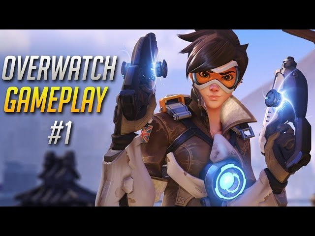 OverWatch Gameplay #1 | HOW TO SUCK AT OVERWATCH!