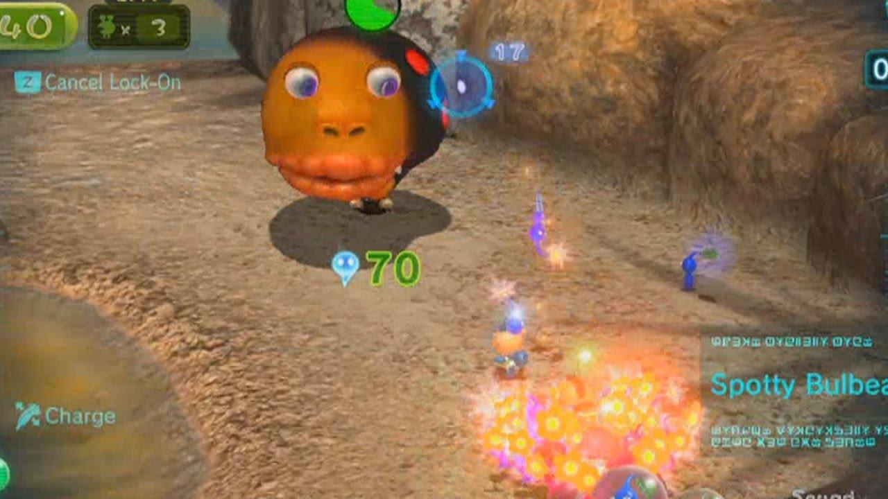 Pikmin 3 Platinum Episode 14 Thirsty Desert Battle Enemies