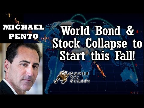 World Stock & Bond Market Collapse Coming Says Michael Pento