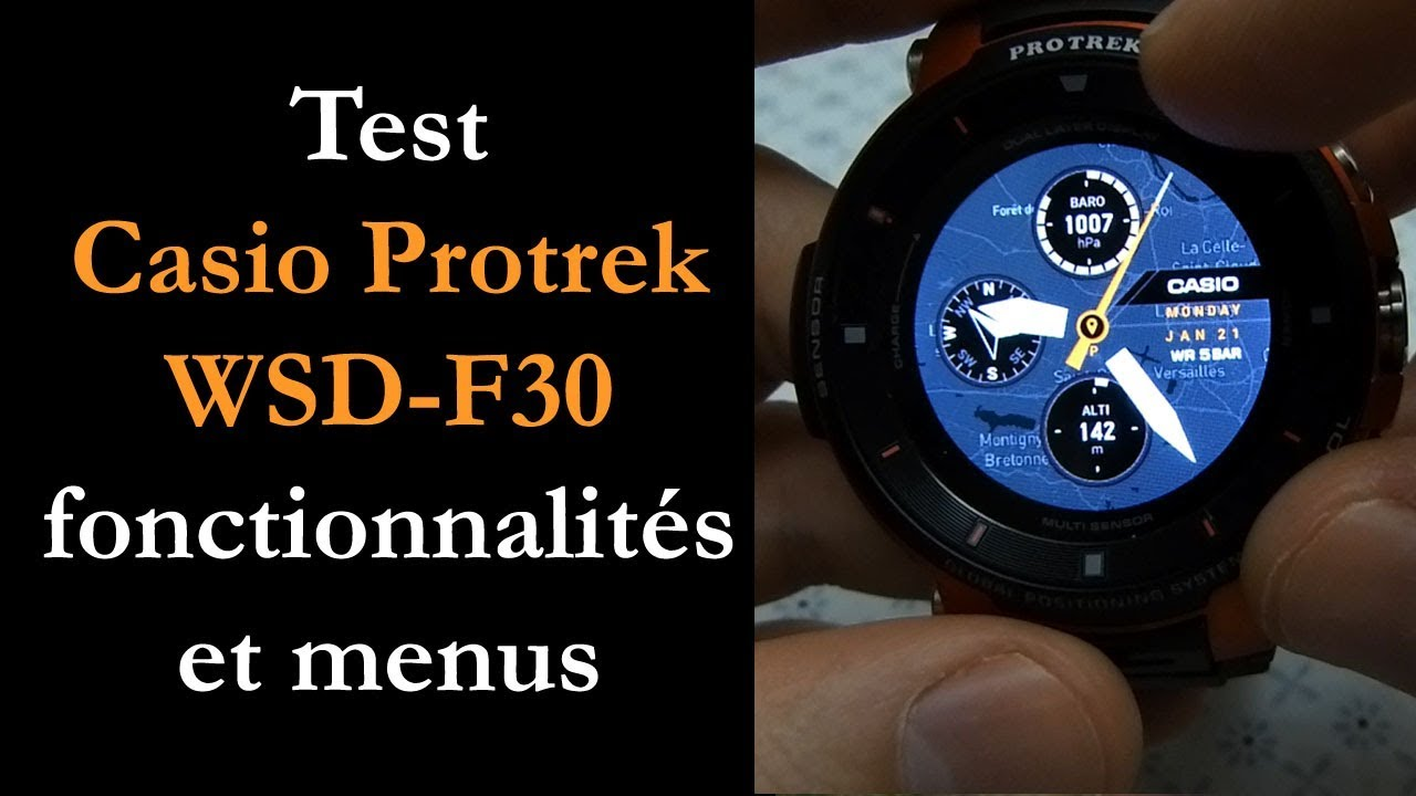 Test] Montre GPS Casio Pro Trek Smart
