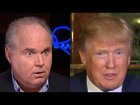 Random Rush: Limbaugh Tiptoes Around Trump