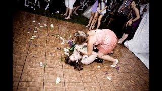Женская драка на свадьбе. Это жесть.