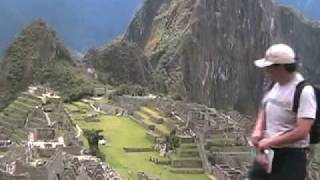 Kosmos the Machu Picchu tour guide
