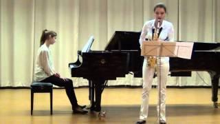 А.Глазунов – Концерт для саксофона
