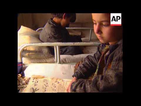 AFGHANISTAN: KABUL: ORPHANED CHILDREN
