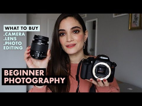 Best Camera, Lenses & Photo Editing For Beginner Photography