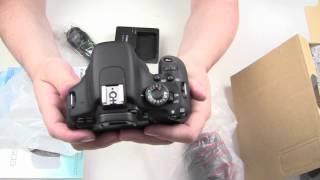 Canon EOS 600D Unboxing german HD