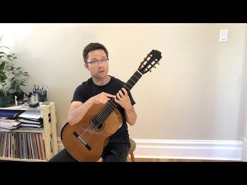 Vol. 2 Lesson: Left Hand Technique Exercises for Classical Guitar
