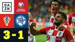 Perisic und Co. drehen die Partie und fahren zur EM: Kroatien - Slowakei 3:1 | EM-Quali | DAZN