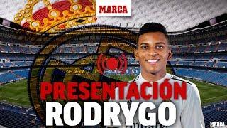 Presentación de Rodrygo Goes como jugador del Real Madrid, en directo I Fichajes Real Madrid 2019