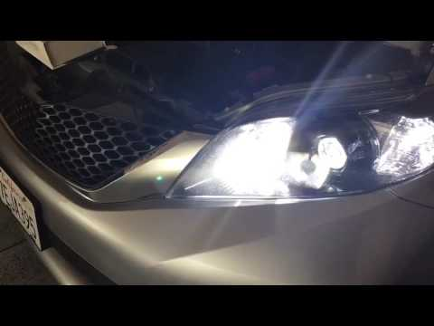Toyota Sienna Se Led Drl High Beam Installation And Review