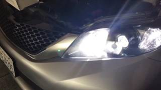 Toyota Sienna SE LED DRL/High Beam installation and review