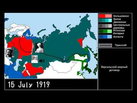 Russian civil war breakdown
