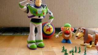 Toy Story  バズ ライトイヤー と ベビーフェイス の ラジコン