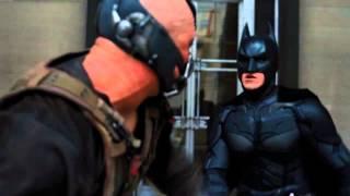 Batman vs. Bane The Dark Knight Rises HD