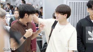 180824 Singto&Krist - Heading to Wuxi @ BKK Airport