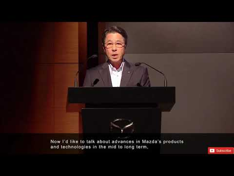 Mazda's Skyactive-X & Long Term Vision For Tech Development | Clip