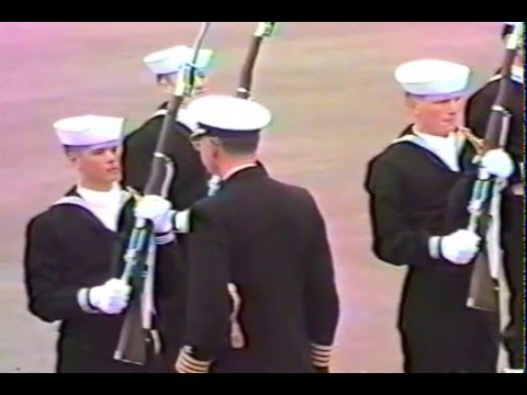 RTC-NTC San Diego, CA 1986--Pass in Review and drill show