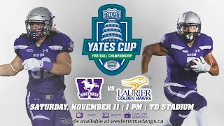 Football Preview - 110th Yates Cup - November 8, 2017