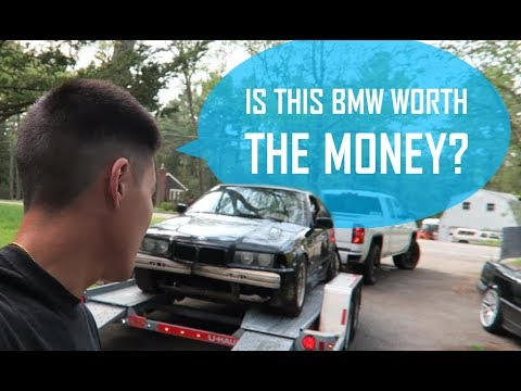 I Bought A BMW E36 From A Junkyard ...Was It Worth The Price? [1996 BMW 318ti]