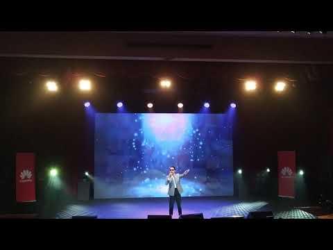 Huawei Nova 4 Launch - Local artiste Hael Husaini performs