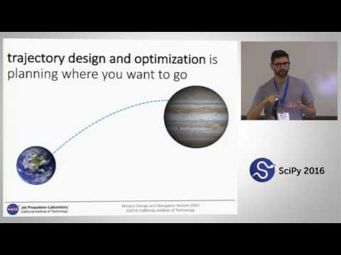 MONTE Python for Deep Space Navigation | SciPy 2016 | Jonathon Smith