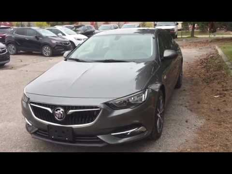 2019 Buick Regal Sportback Fwd Oshawa On Stock 190230 Youtube