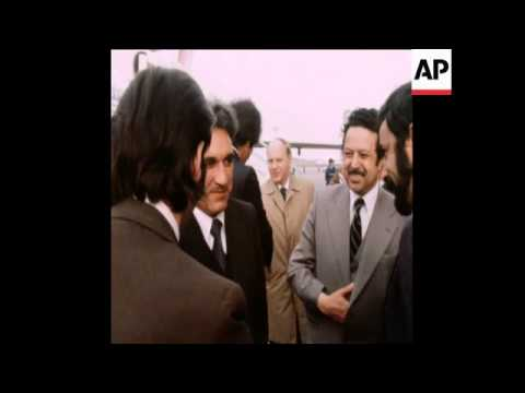 UPITN 18 5 78 AFGHANISTAN FOREIGN MINISTER MR HAFIZULLAH AMIN VISITS MOSCOW