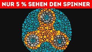 20 Knifflige Bilderrätsel und optische Illusionen, die deine Sehkraft testen