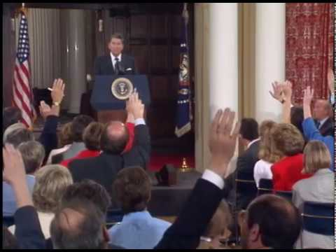 President Reagan's Press Conference at Spaso House on June 1, 1988