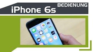 Apple iPhone 6s - Bedienung