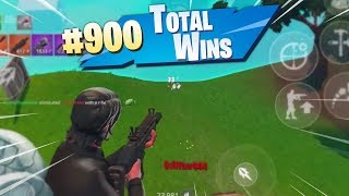 MY 900th WIN ON MOBILE!! - Fortnite Mobile Battle Royale Gameplay