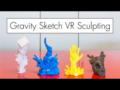 VR Sculpting to 3D Prints with Gravity Sketch ( ...and Printing Iron? )