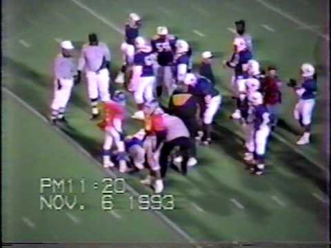 Texas Rampage 20 vs Arlington Broncos 23 pt.2 (1993 Championship)