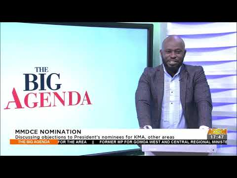 MMDCE Nomination: Discussing objections to President's nominees for KMA, other areas (20-9-21)