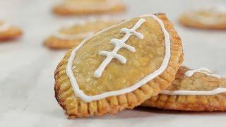 Mini Football Pumpkin Pies For Game Day! | Just Add Sugar