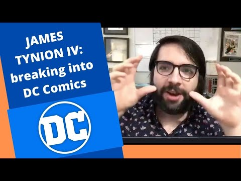 Interview: Breaking Into DC Comics with James Tynion IV - writing BATMAN