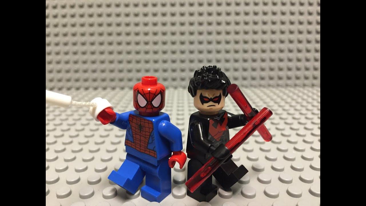 Nightwing Vs Spiderman | www.pixshark.com - Images ...