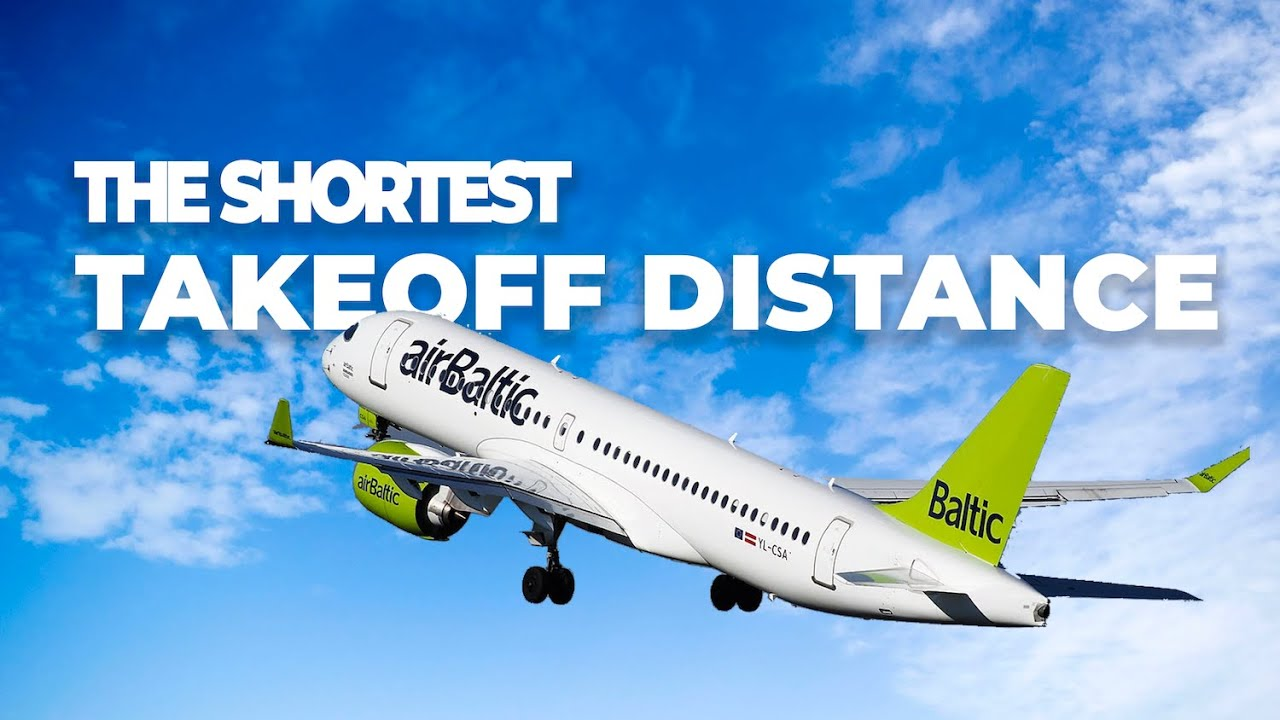 Which Passenger Planes Have The Shortest Takeoff Distance?