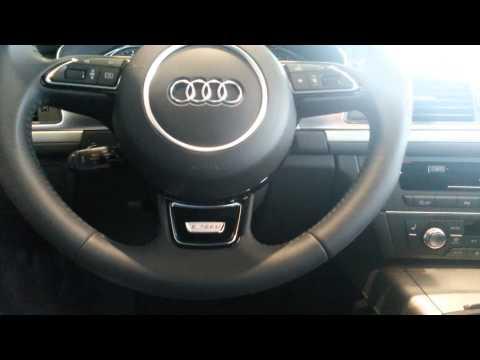 Audi r8 nede i audicenter i Fredericia