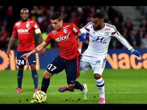 Lille - Lyon (2-1) Tout Les Buts ! 28/02/2015
