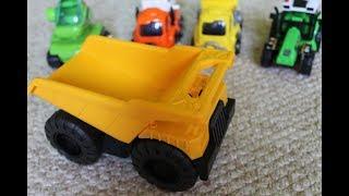 Видео для детей Строительная техника - обучение видам транспорта/ Сonstruction machinery
