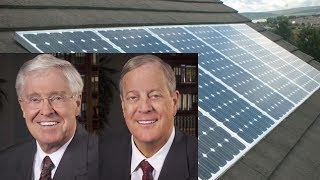 Koch Bros Behind Solar Power Fines