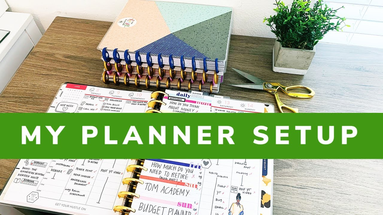 My Planner Setup - July 2020 | Using 8 Planners