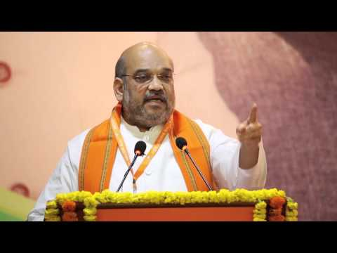 Shri Amit Shah inaugurates BJP National Executive Meeting, New Delhi (19 March 2016)